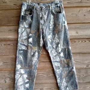 Men's 38×32 Wrangler Camo Jeans
